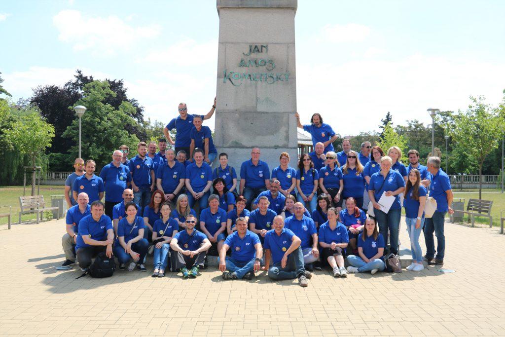 IPMA group photo in Mlada Boleslav